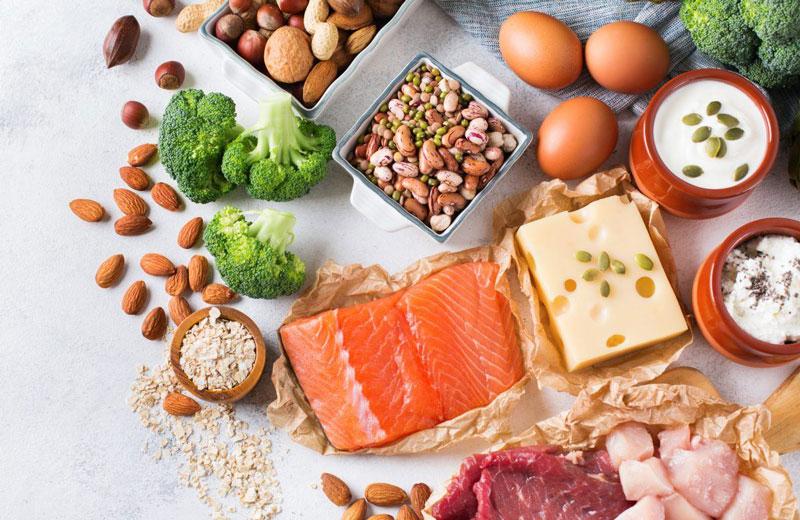 افزایش متابولیسم با مصرف پروتئین