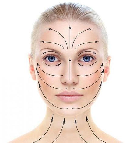 تاثیر شگفت انگیز ماساژ صورت برای صافی و زیبایی پوست