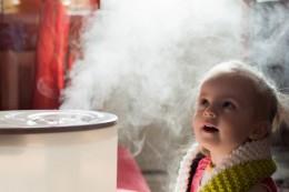 فواید بخور سرد بر سلامتی اطفال و نوزادان