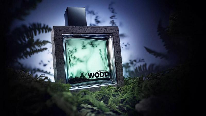 He Wood Rocky Mountain DSQUARED poster پوستر عطر هی وود راکی مانتین دسکوارد