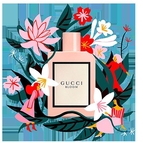gucci bloom تستر عطر ادکلن گوچی بلوم