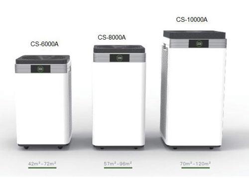 تصفیه هوا چرمه شیز CS-10000A - CS-8000A - CS6000A