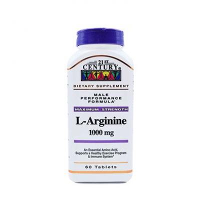 ال - آرژنین 1000 میلی گرم 21 سنتری L-Arginine 1000 mg