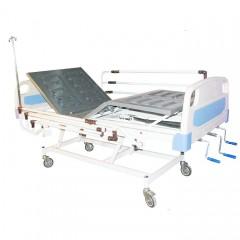 تخت بیمار مکانیکی سه شکن رویه ABS کد 103A