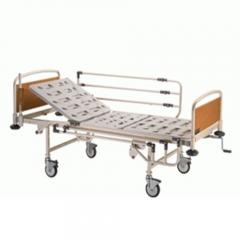 تخت بیمار مکانیکی تک شکن رویه پانچ ABS