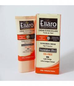 کرم ضد آفتاب فاقد چربی با پوشش کرم پودر اولارو Oil Free Sunscreen Tinted Cream SPF30